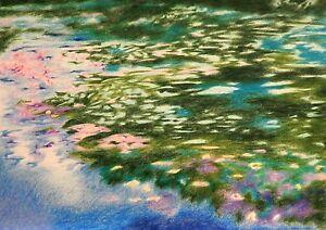 RICHARD-FREER-ORIGINAL-034-Spring-Lake-034-Landscape-Field-Impressionist-PAINTING