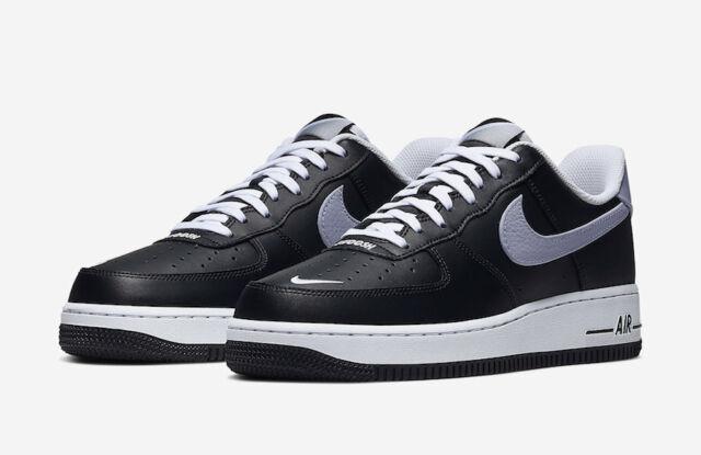 Nike Air Force 1 '07 LV8 4 Black Grey White CJ8731-001 Men's Shoes Multi  Size