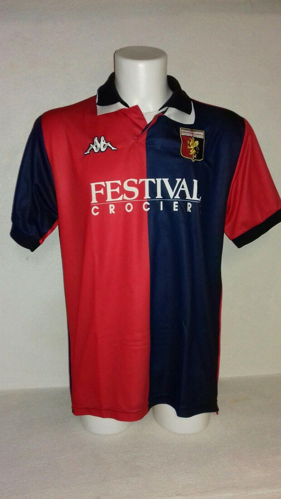 Maglia Genoa 199899 Kappa shirt trikot maillot camiseta footbtutti vintage Genova