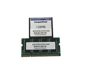 Mem181x-256d + Mem1800-128cf Cisco 1811 1812 Max Memory