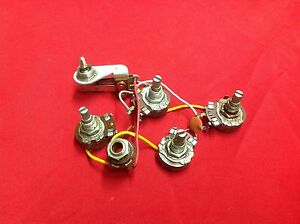 Details about VINTAGE 1962 USA GIBSON GUITAR WIRING HARNESS POTS MELODY on