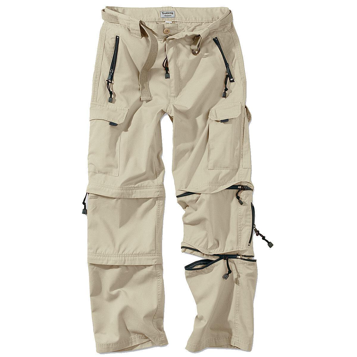 Surplus Trekking Pantaloni Pantaloni Pantaloni Zip S-XXL Tutti i Colorei Esterno Cargo Nuovo 816e16