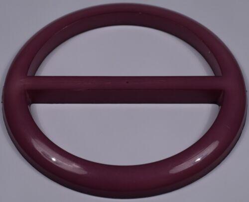 purple violet vintage retro round dress slide slider buckle scarf belt 4.5cm
