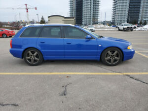 2001 Audi B5 S4 Twin Turbo AWD Nogaro Blue Wagon Touring
