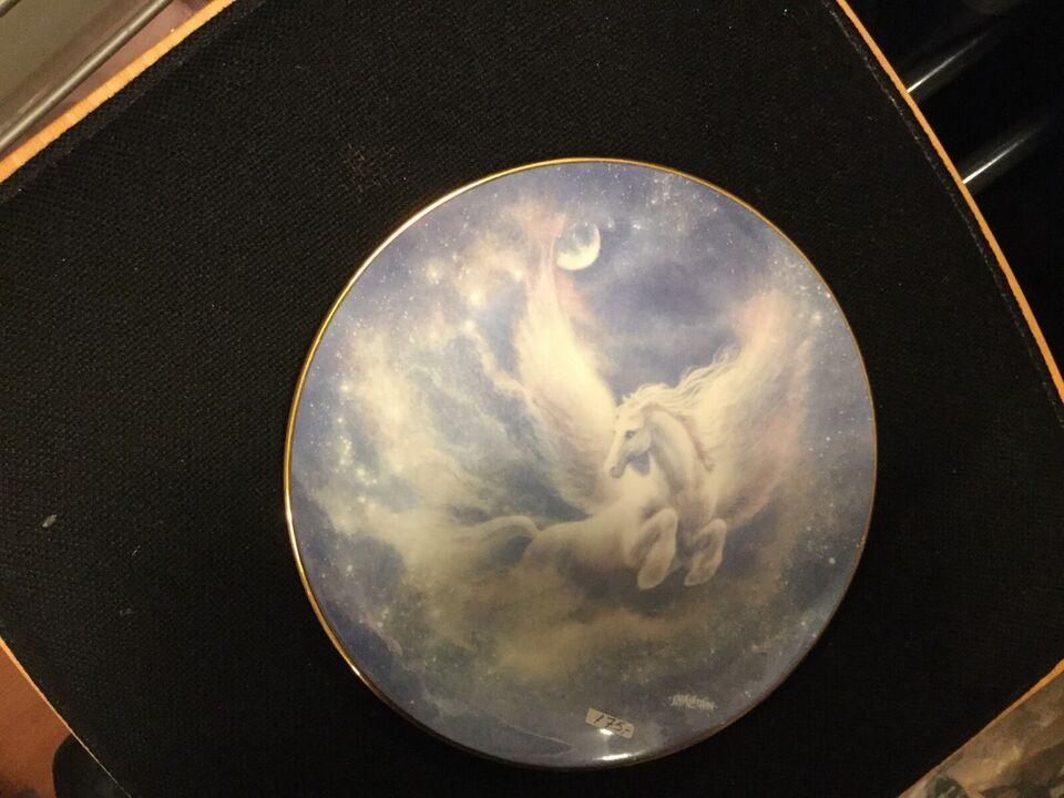 Porcelæn, Tallerken, The Hamilton Collection