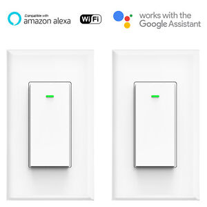 Smart-WIFI-Light-Switch-Remote-Alexa-Google-Home-Voice-Control-Smart-Life-2pack