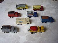 Vintage Job Lot of Lesney Husky Corgi Trucks