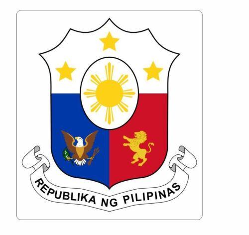 Escudo de armas de las Filipinas Pegatina Calcomanía R960