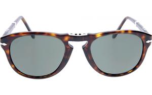 a3096a514b NWT Persol Sunglasses PO 714 24 31 Folding Havana Brown   Grey Green ...