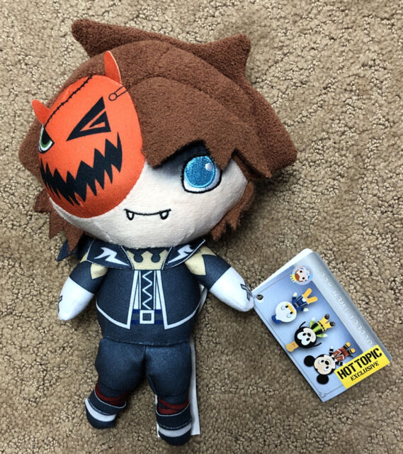 Funko Disney Kingdom Hearts Sora Halloween Town Plush Hot Topic Exclusive