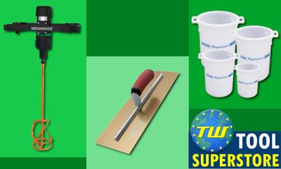 5% off Branded Plastering Tools