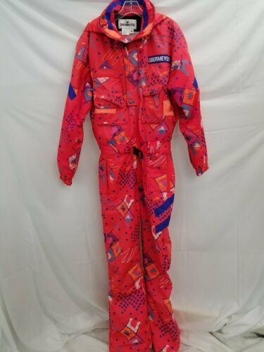 Obermeyer Sport Hot Pink Print Snowsuit Jumpsuit O