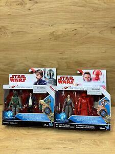 Star-Wars-Force-Link-Figure-Rey-Jedi-Training-Han-Solo-Boba-Fett-Elite-Guard-Lot