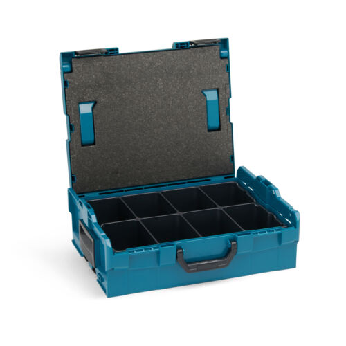 Kleinteileeinsatz 8fach+Deckelpolster Bosch Sortimo L-Boxx 136 limited Edition