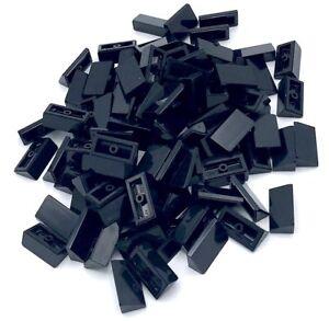 LEGO LOT OF 100 NEW 1 X 2 X 2//3 SLOPE 30 DARK BLUISH GREY TECHNIC SLOPED PARTS