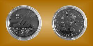 Bien Informé Médaille Gedenkprägung Ecu Pays-bas Nederlandse Hockeybond 1898 - 1998-afficher Le Titre D'origine