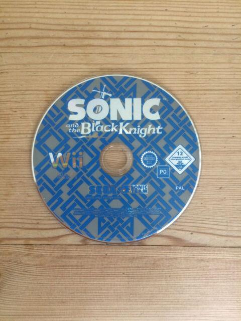 Sonic et le chevalier noir pour Nintendo Wii * Disque Seulement *