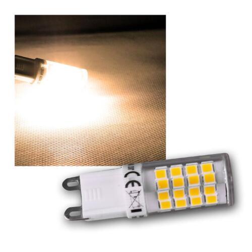 3x LED Stiftsockel Leuchtmittel G9 warmweiß 4W 270lm Mini Stiftsockellampe Birne