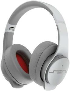 Sol Republic Soundtrack Pro Grey Wireless Bluetooth ANC Headphones w/ Microphone