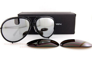 New Porsche Design Sunglasses P8613 8613 A Black Interchangeable ... 6c3599dcfc