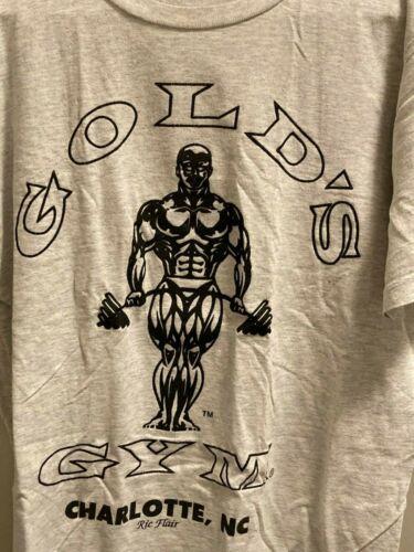 Rare Vintage Ric Flair Gold's Gym Charlotte NC shi
