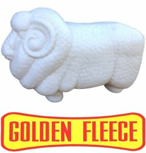 WHITE-GOLDEN-FLEECE-RAM-PETROL-BOWSER-PUMP-REPO-MARINO-SHEEP-SIGN-TOP