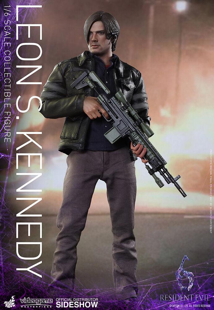 RESIDENT EVIL  LEON S. KENNEDY 1 6 Action Figure 12″ HOT TOYS