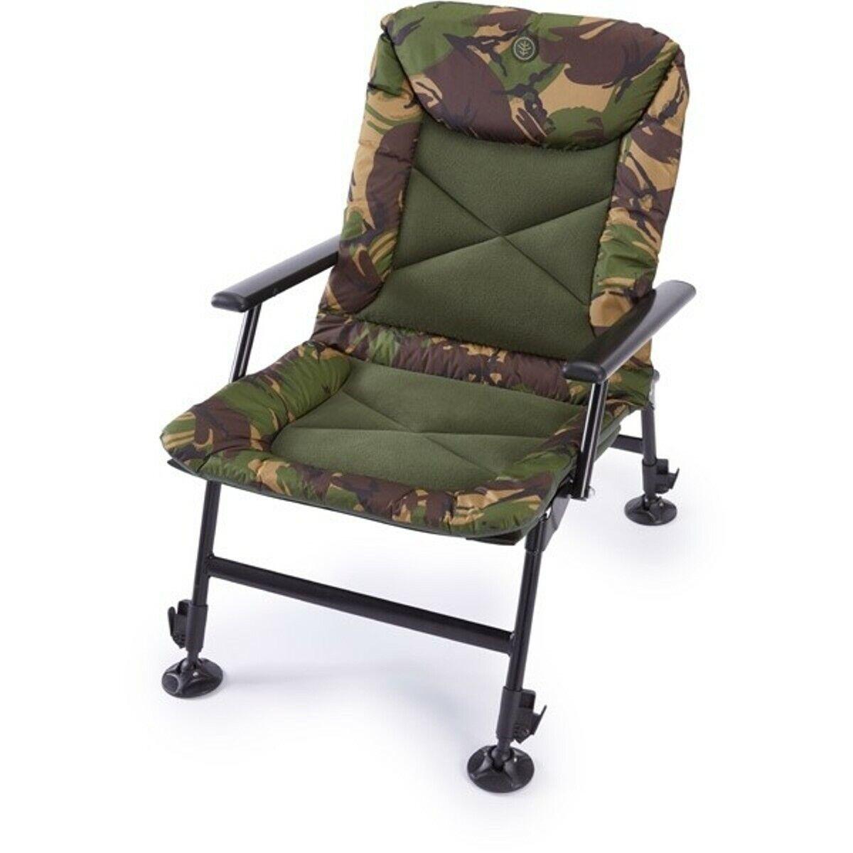 A0650 Wychbois Tactical X Faible Arm-Chair Stuhl Karpfenangeln Gepolstert