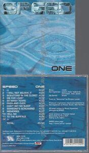 CD--SPEED--ONE
