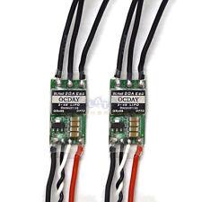 2x OCDAY 20A Mini 2-4S Lipo ESC (No BEC) ONESHOT125 for QAV EMAX ZMR 220
