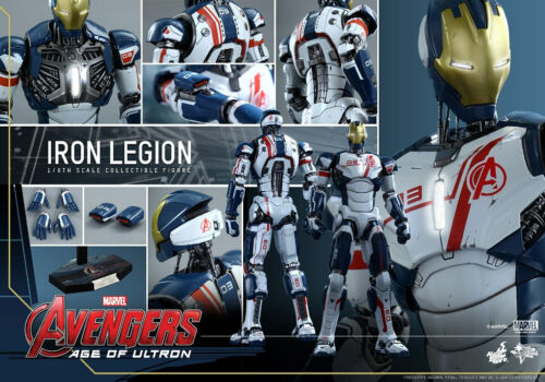HOT TOYS 1//6 MARVEL AVENGERS MMS299 IRON MAN IRON LEGION MASTERPIECE FIGURE