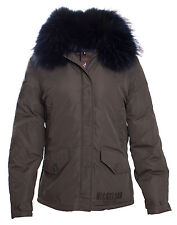 Nickelson - Damen Winterjacke mit Pelz GIANT - Army Green  XS S M