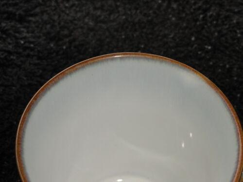 Sango Concepts Avocado Brown Base /& Trim  Rim Handle White Inside Gray-Green Mug