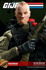 Sideshow GI Joe Beachhead Exclusive Alt Head New Cobra