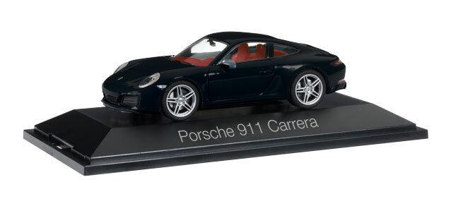 Porsche 911 Carrera coupé noir 1 43 Herpa
