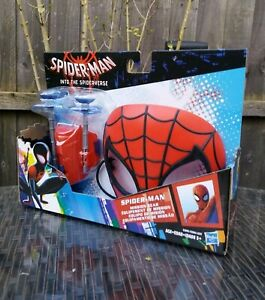 SPIDER-MAN-INTO-THE-SPIDERVERSE-MISSION-GEAR-MASK-amp-WEB-SHOOTER-HASBRO-BRAND-NEW