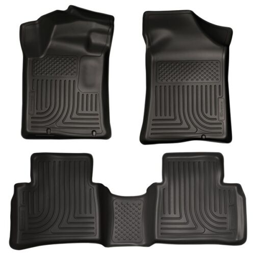 Husky Weatherbeater Front /& Rear Floormats Set for 2013-2015 Nissan Altima 99641