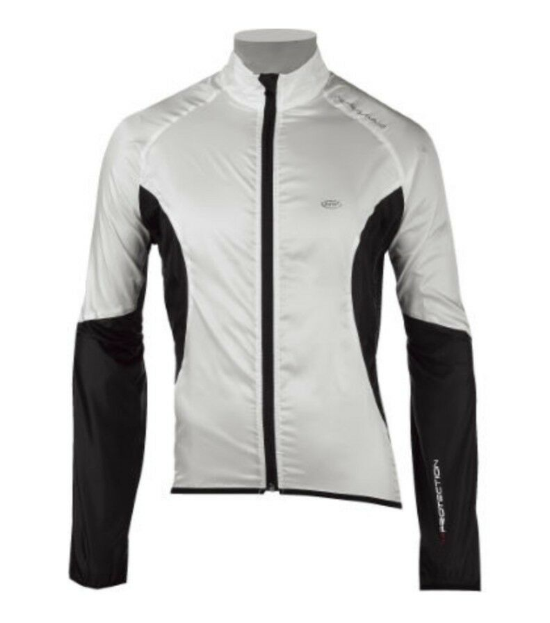 NUOVA Giacca Vento NORTHWAVE NORTH PARABREZZA PLUS antivento ciclismo HIGH Giacca XL