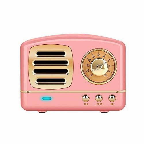 Wireless MP3 & MP4 Player Accessories Stereo Retro Speaker,
