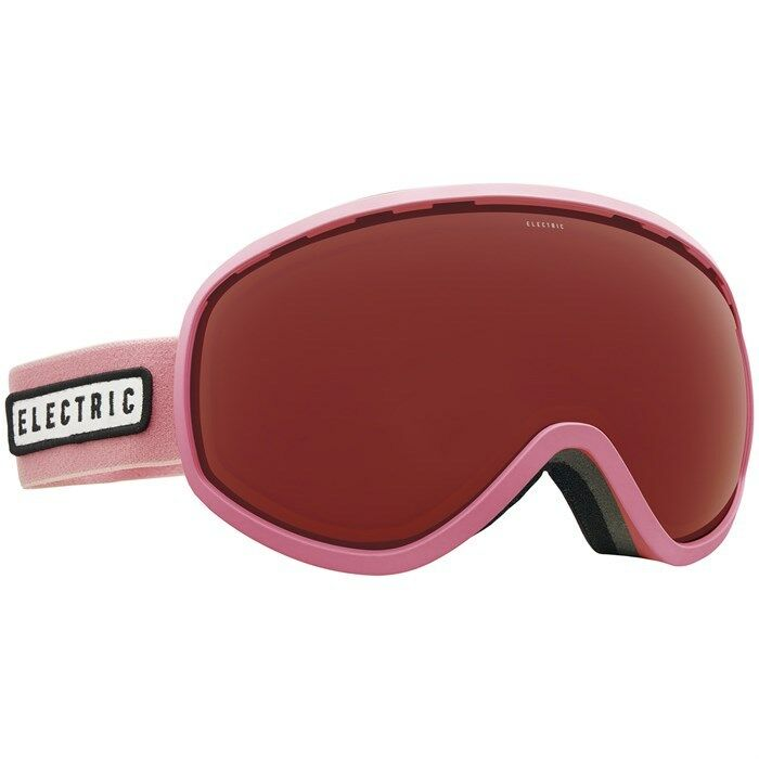 Electric Visual Mesher Bubble Gum Snowboarding Goggles (Pink)