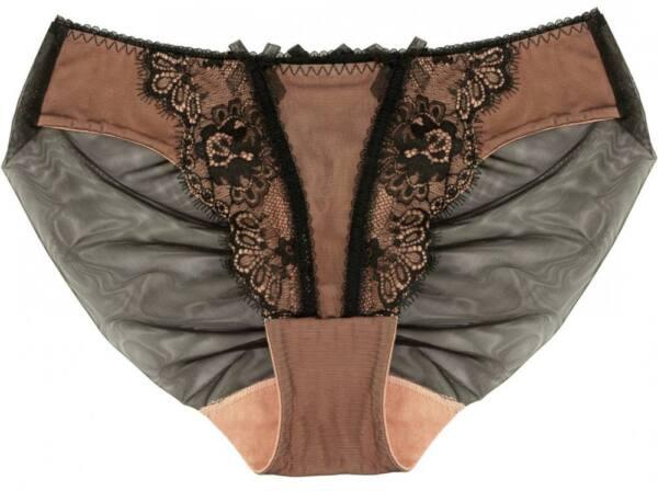 Dita von Teese Slip Savoir Faire black/antique rose /y22957