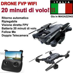 DRONE-QUADRICOTTERO-RADICOMANDATO-4CH-X2-2-4Ghz-CAMERA-HD-VIDEO-FOTO-USB-LED