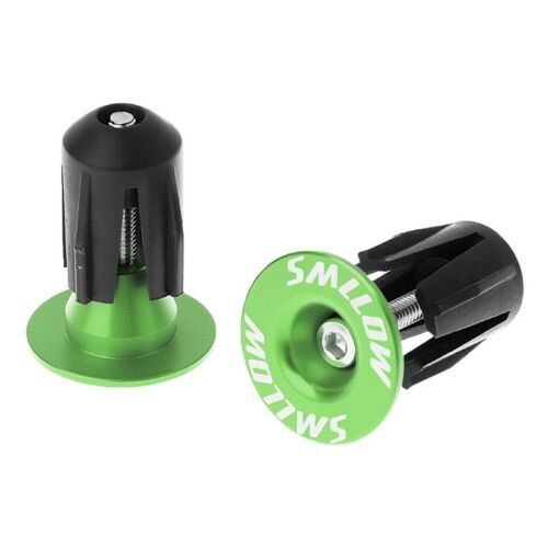 2Pcs Aluminum Bike Bar End Plugs Road Bicycle Grip Handlebar Caps MTB Accessory