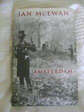 IAN Mc EWAN    AMSTERDAM 1st EDITION 1998 JONATHAN CAPE