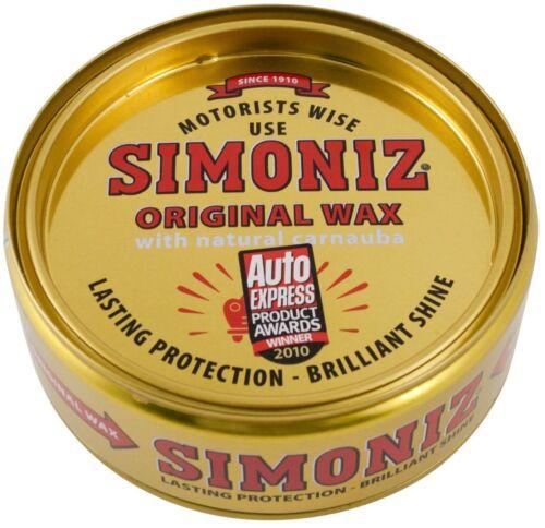 Simoniz Original Wachs Auto Politur Dose Mit Natur Carnauba 150g Seit 1910