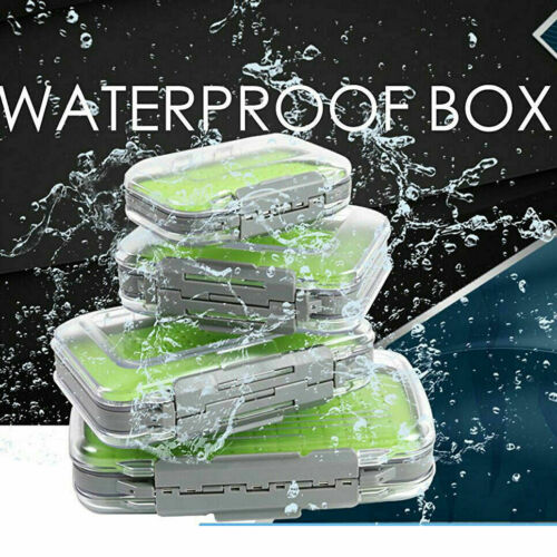 Maxcatch Fly Fishing Box Easy-grip Silicone Insert Tackle Jig Boxes Double Side