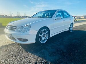 MERCEDES-AMG-C55AMG-FRESH-JAPAN-IMPORT-MASSIVE-SERVICE-HISTORY-NO-RESERVE