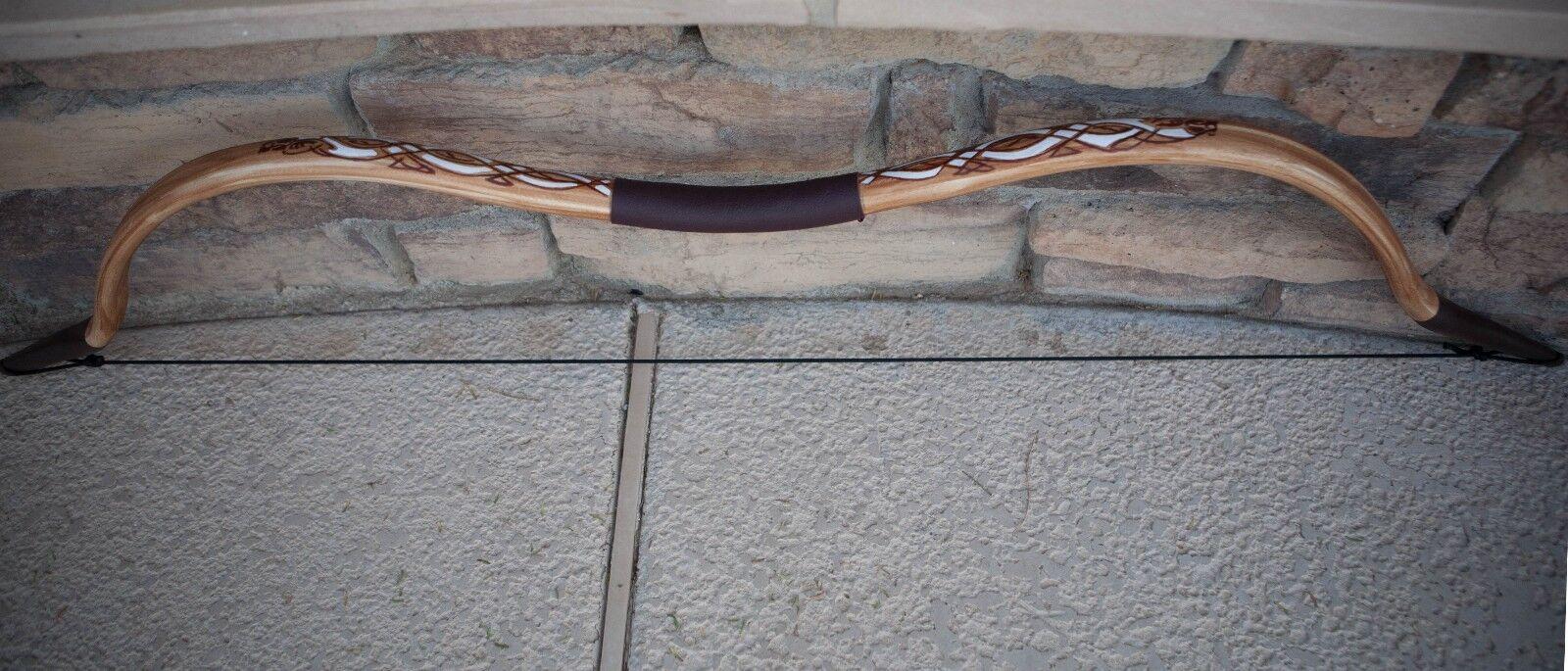 Merida's Bow with Celtic Design PVC Functional Bow  - Handmade