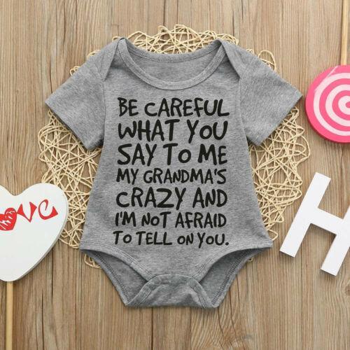 Details about  /Newborn Infant Baby Girls Boys Print Romper Jumpsuits Outfits Sunsuit Clothes US