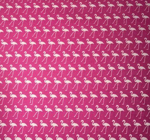 Rose /& Hubble Cerise Flamingo Tela de la impresión 100/% algodón 112cm Ancho Por Metro